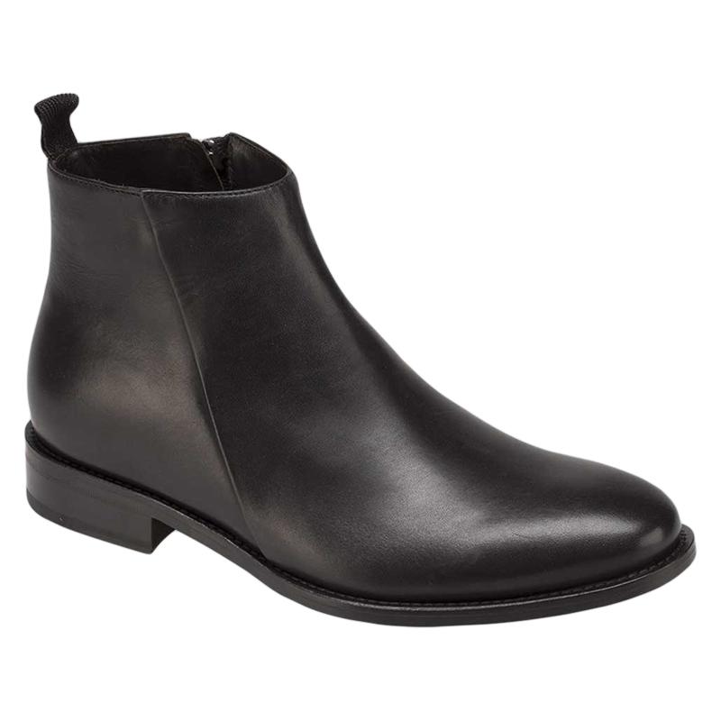 Bacco Bucci Varane Calfskin Boots Black Image