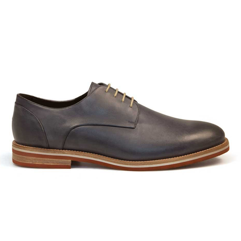 Bacco Bucci Virgilio Calfskin Shoes Grey Image