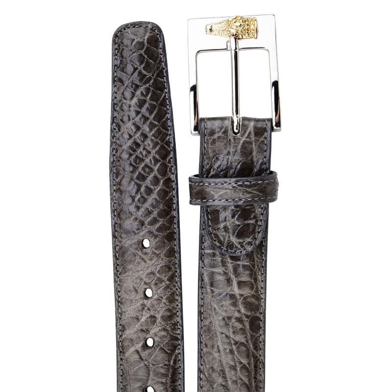 Belvedere Alligator Belt Gray Image