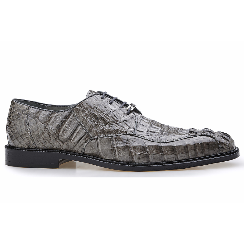 Belvedere Chapo Lace Up Shoes Gray Image