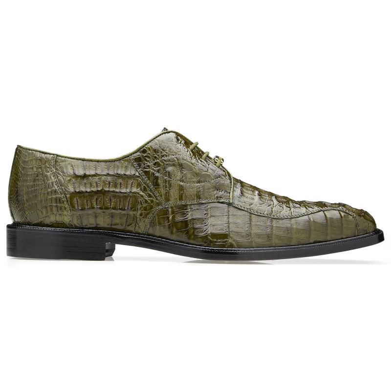 Belvedere Chapo Hornback Shoes Olive Image
