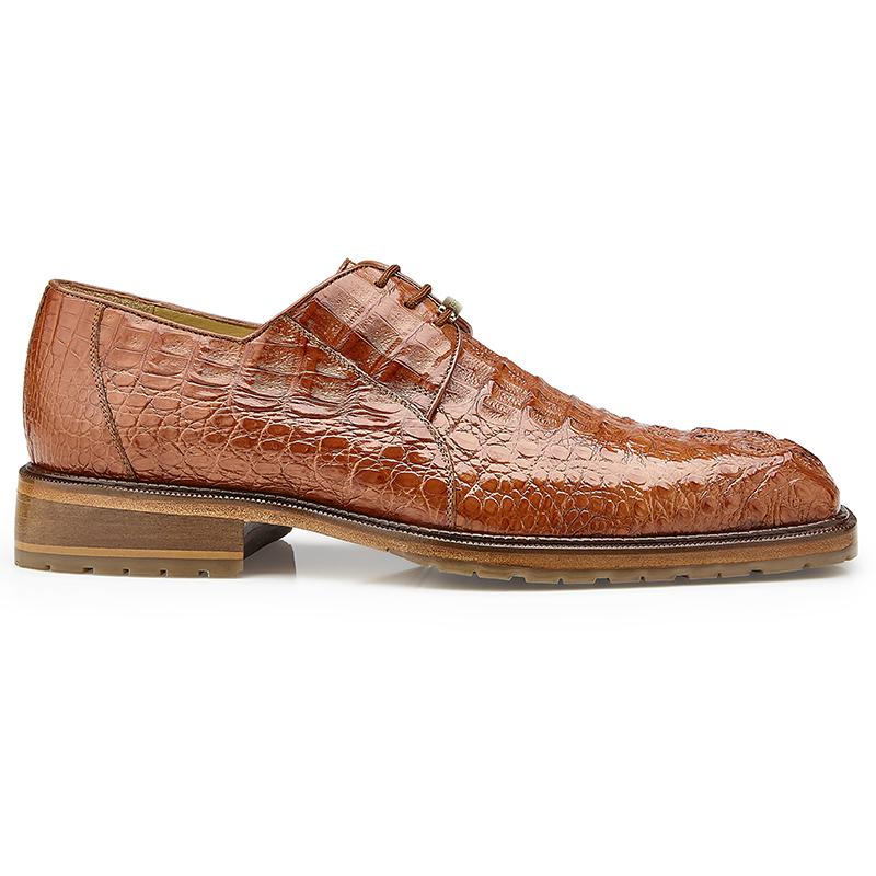 Belvedere Coppola Hornback Crocodile Shoes Honey Image