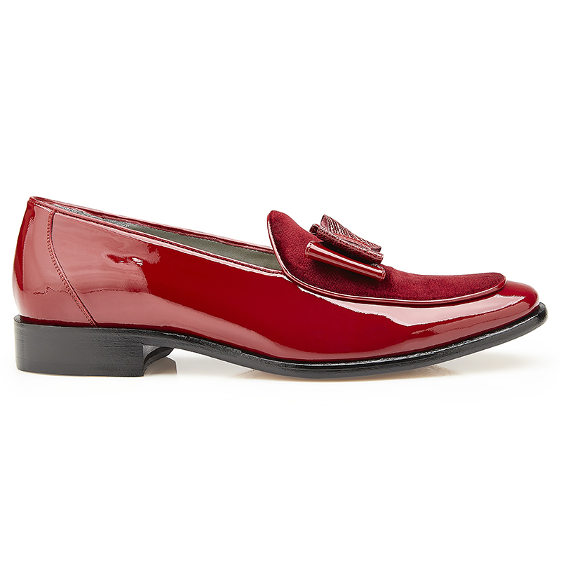 Belvedere Cruz Patent Leather Shoes Red Image