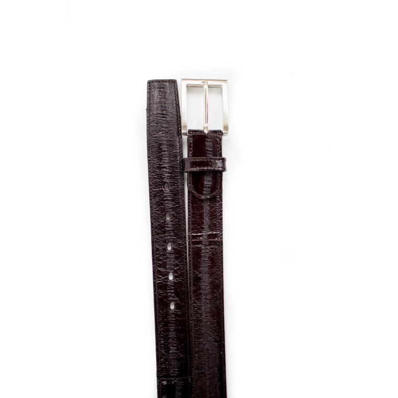 Belvedere Eel Belt Brown Image