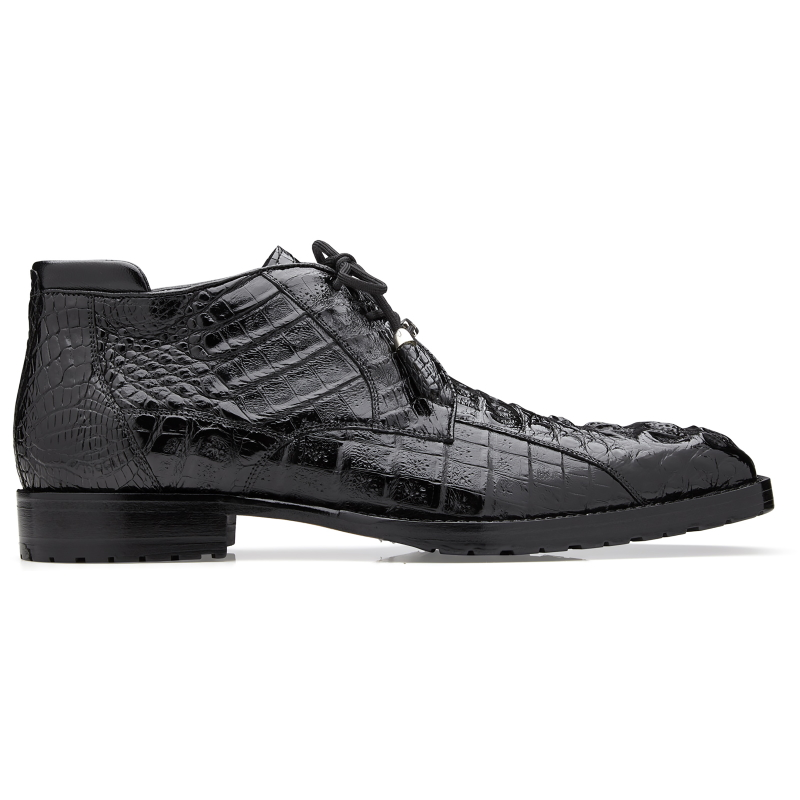 Belvedere Gaylord Hornback Ankle Boots Black Image
