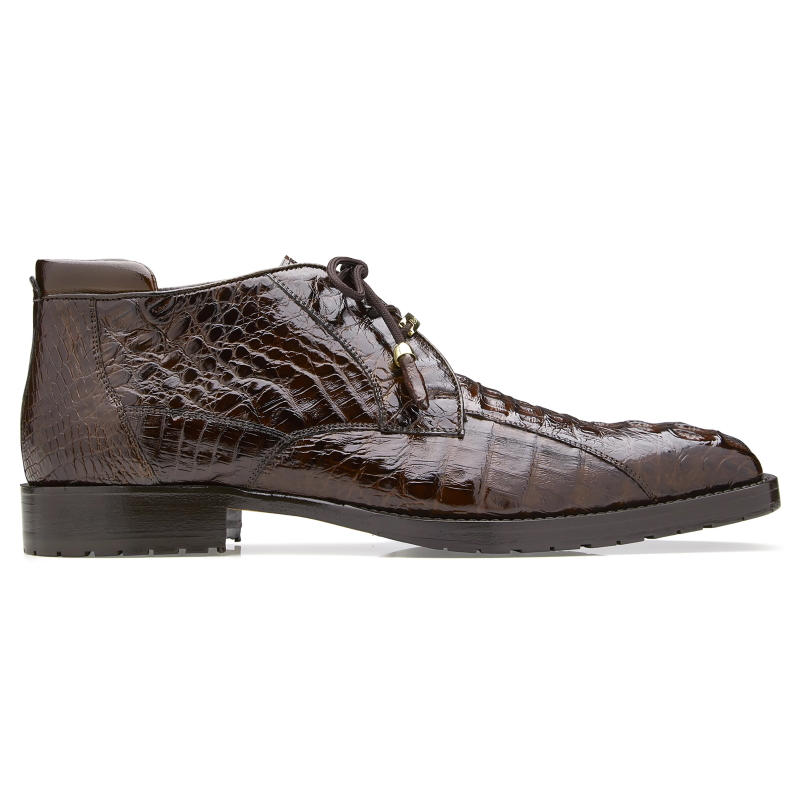 Belvedere Gaylord Hornback Ankle Boots Brown Image