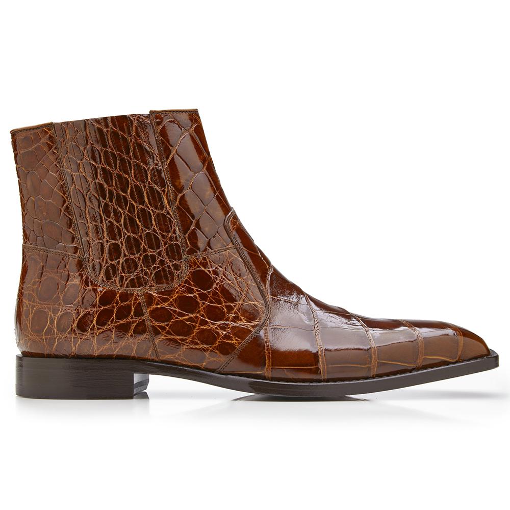 Belvedere Ivan Alligator Boots Peanut Image