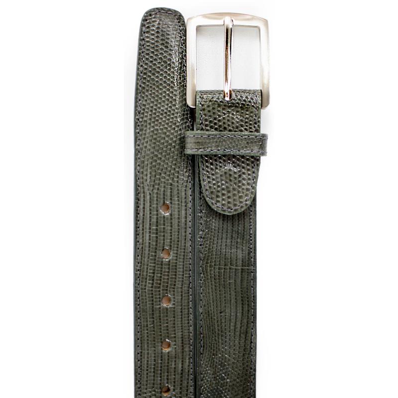 Belvedere Lizard Belt Gray Image