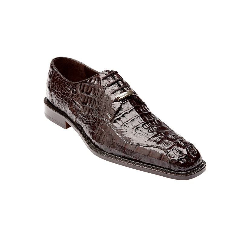 Belvedere Chapo Hornback Lace Up Shoes Brown Image