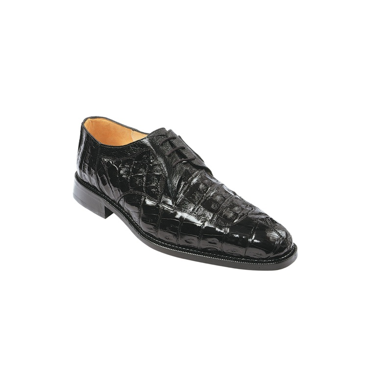 Belvedere Susa Crocodile/Ostrich Shoes Black Image