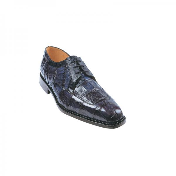 Belvedere Susa Crocodile/Ostrich Shoes Navy Image