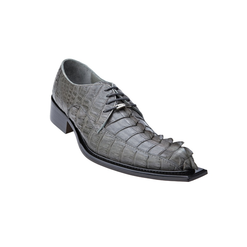 Belvedere Zeno Hornback Shoes Antique Gray Image