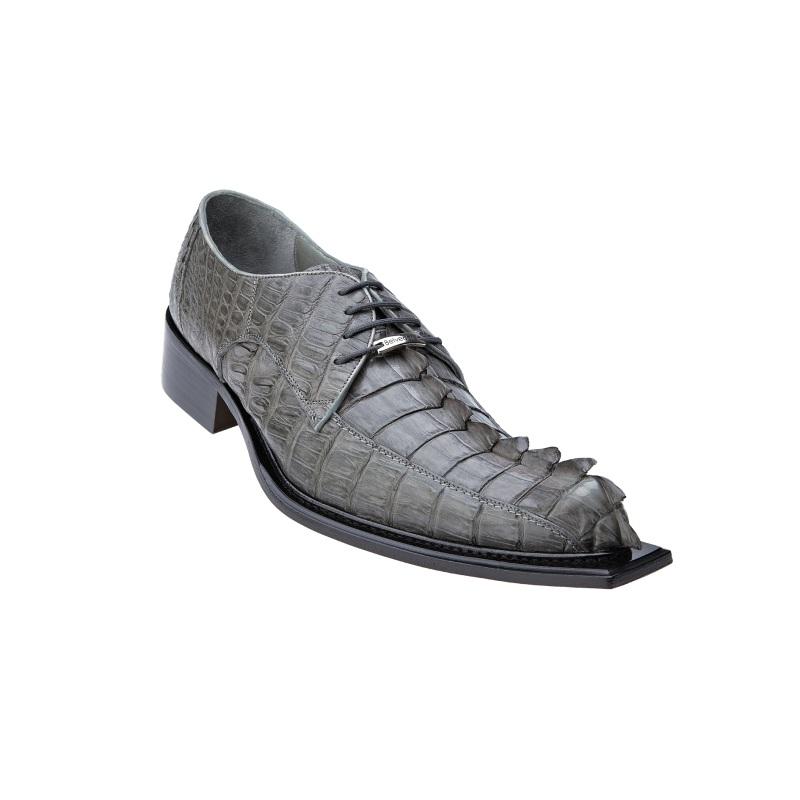 Belvedere Zeno Hornback Shoes Antique Gray Image
