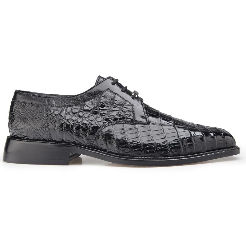 Belvedere Susa Crocodile/Ostrich Shoes Black Image