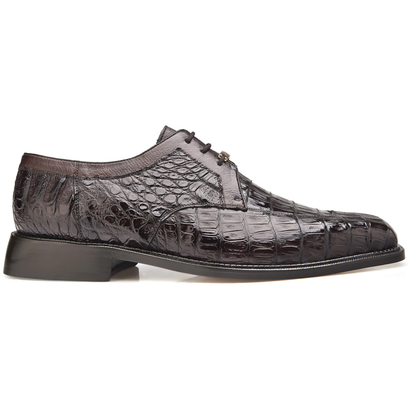 Belvedere Susa Crocodile/Ostrich Shoes Brown Image