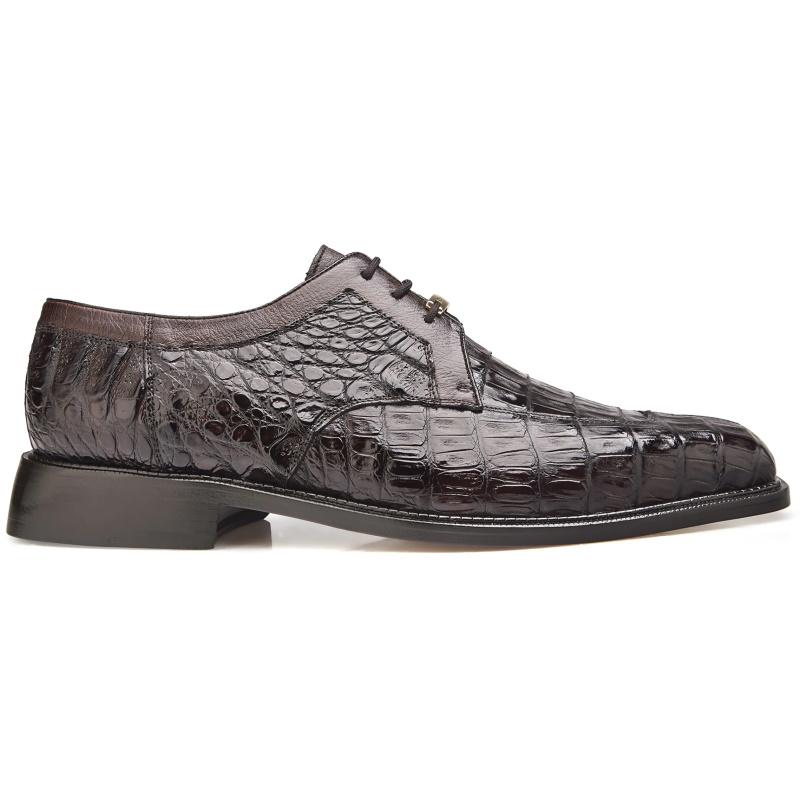 Belvedere Susa Crocodile/Ostrich Shoes Brown Image