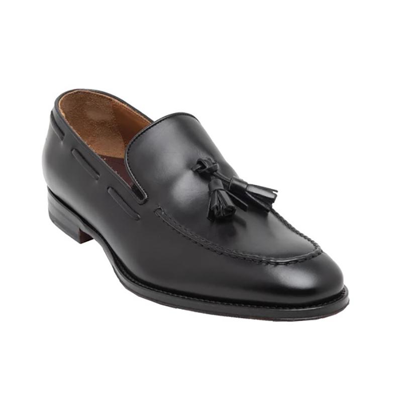 Bruno Magli Alfio Leather Tassel Loafer Black Image