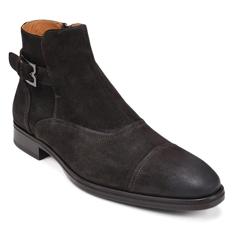 Bruno Magli Arcadia Boots Dark Brown Suede Image