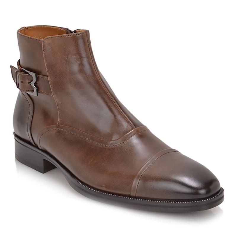 Bruno Magli Arcadia Cap Toe Boot Dark Brown Image