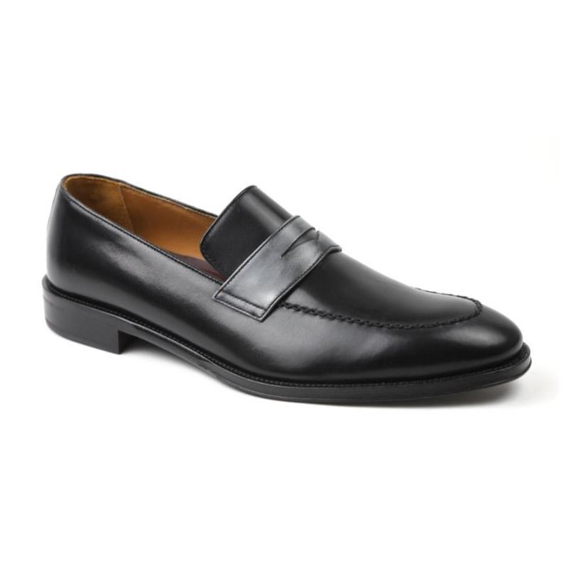 Bruno Magli Arezzo Slip-on Loafers Black / Grey Image