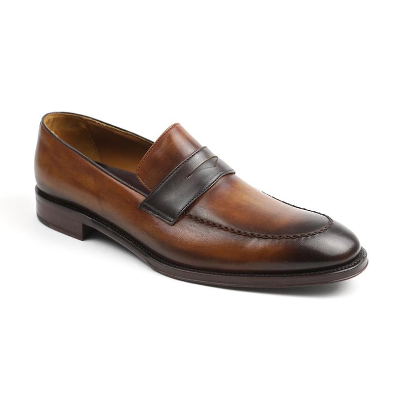 Bruno Magli Arezzo Slip-on Loafers Cognac / Dark Brown Image