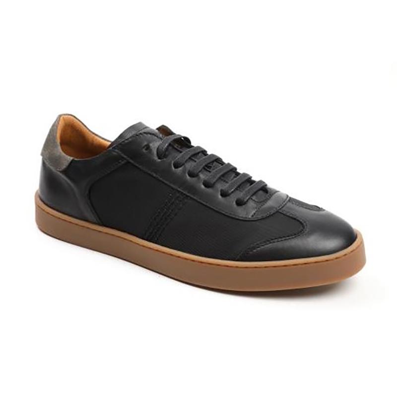 Bruno Magli Bono Sneakers Black Leather Image