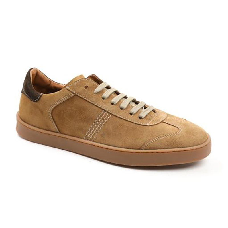 Bruno Magli Bono Sneakers Cognac Suede Image