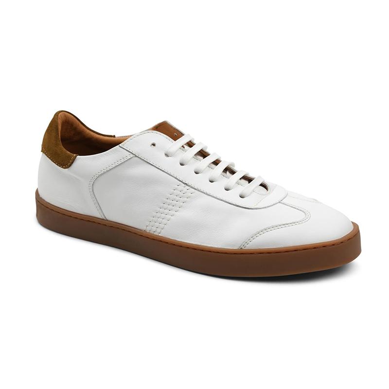Bruno Magli Bono Sneakers White Leather Image