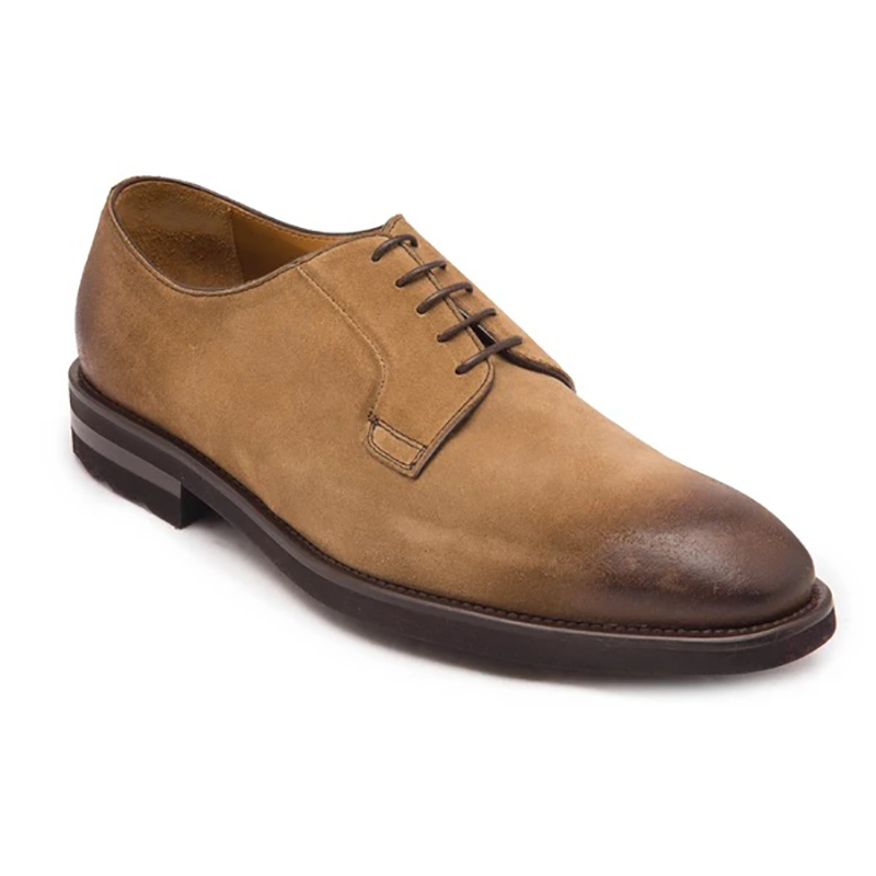 Bruno Magli Bryce Suede Derby Taupe Image