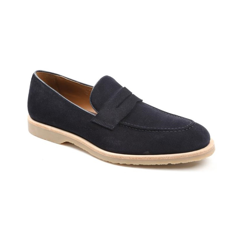 Bruno Magli Cali Penny Loafers Navy Image