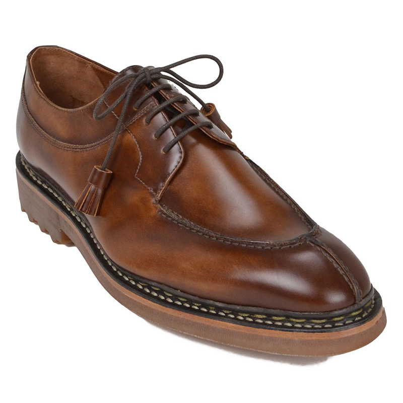 Bruno Magli Caslano Derby Shoes Cognac Image