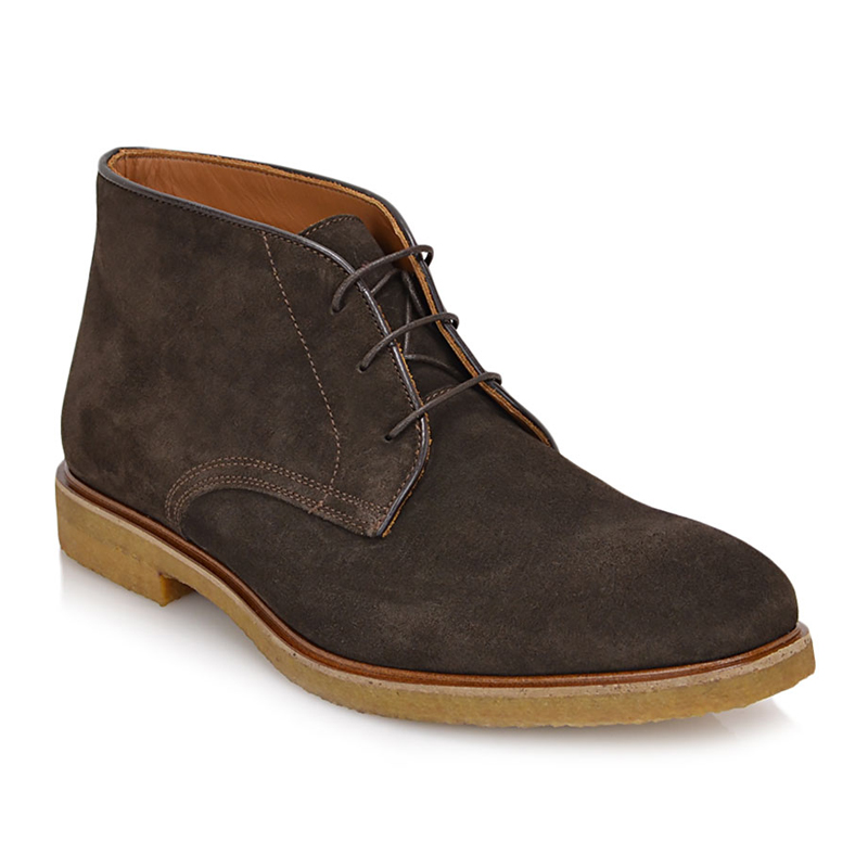 Bruno Magli Chavez Suede Snip Toe Boot Dark Brown Image