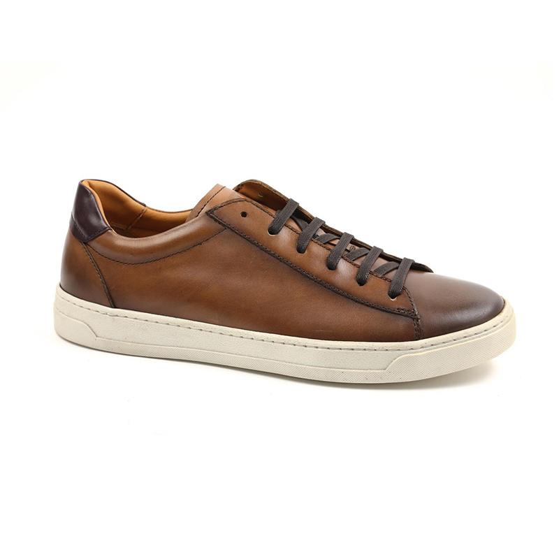 Bruno Magli Dante Lace-up Sneakers Cognac Image