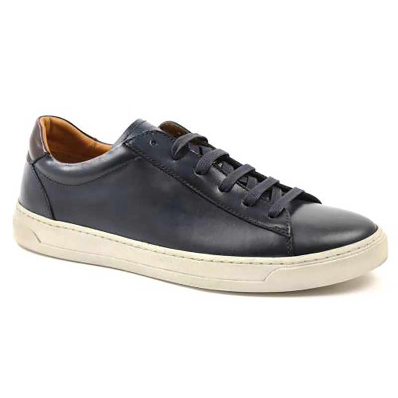 Bruno Magli Dante Lace-up Sneakers Navy Image