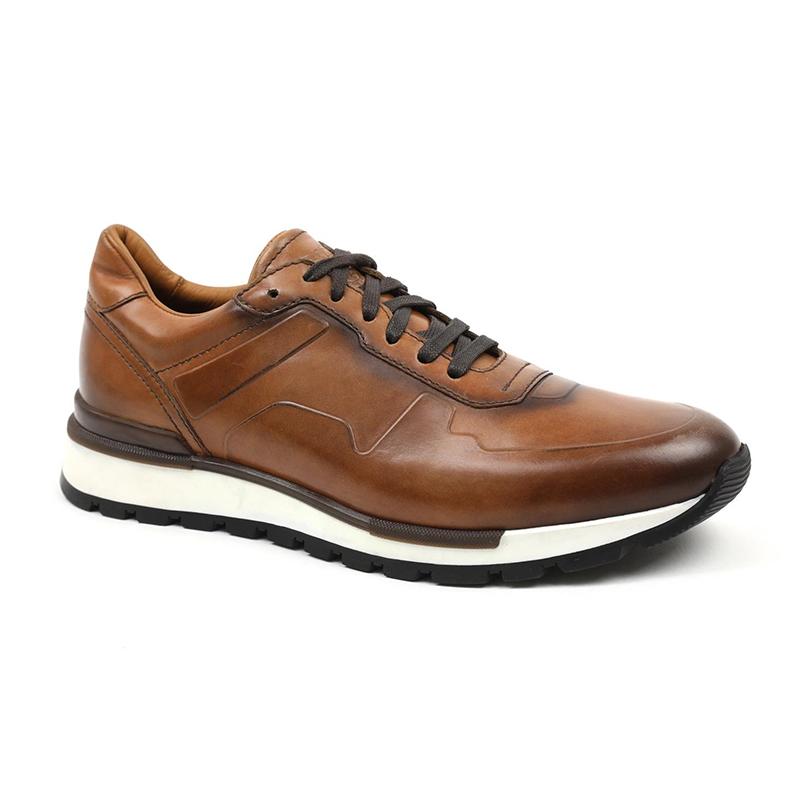 Bruno Magli Davio Jogger Sneakers Cognac Image