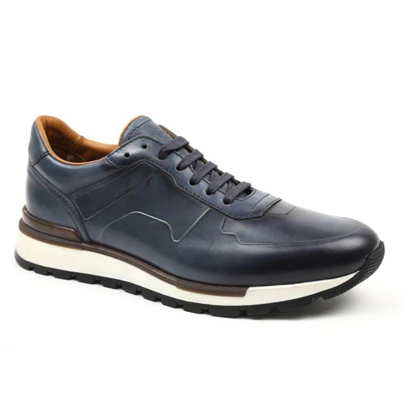 Bruno Magli Davio Jogger Sneakers Navy Image