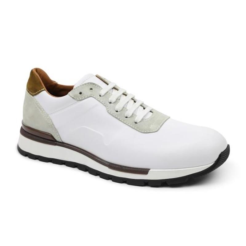 Bruno Magli Davio Jogger Sneakers White Image