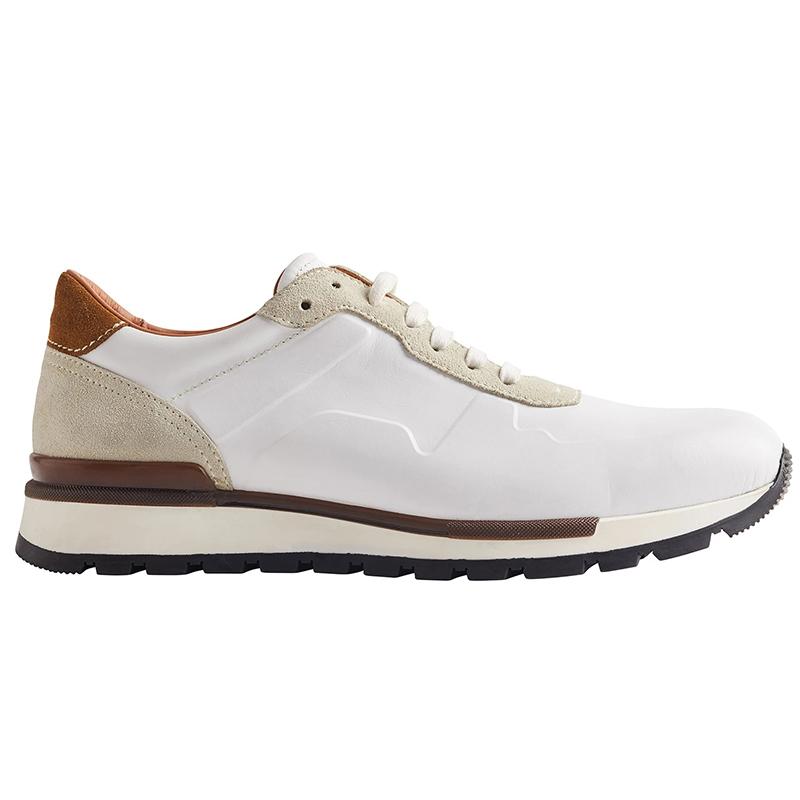 Bruno Magli Davio Leather Sneaker White Image