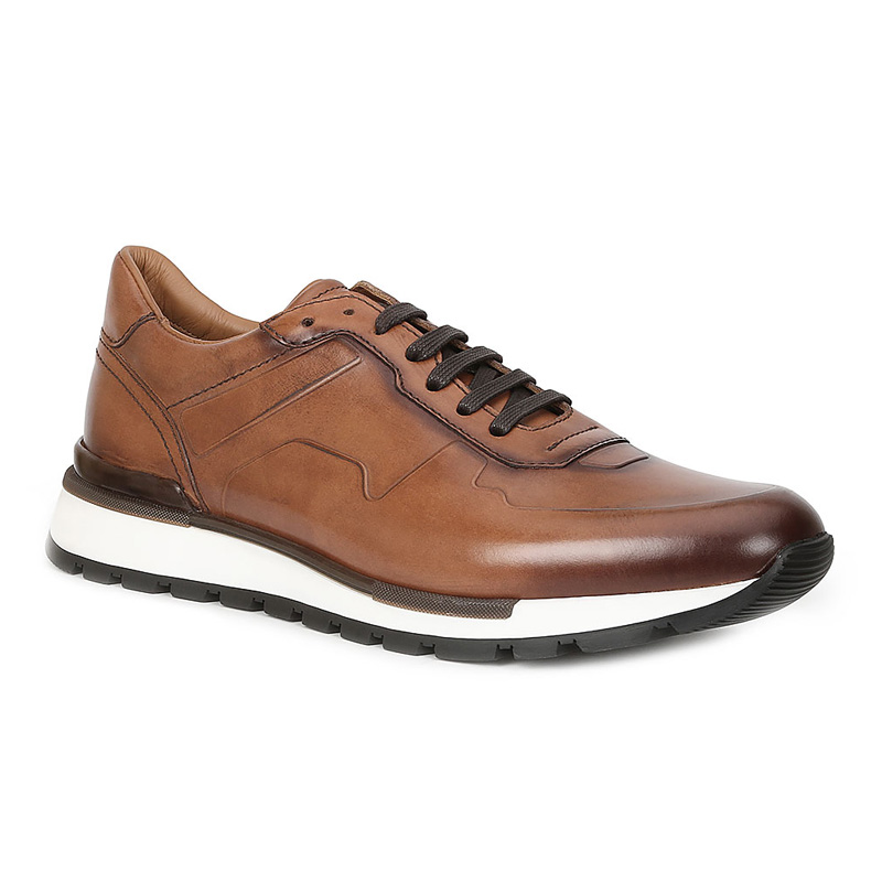 Bruno Magli Davio Sneakers Cognac Image