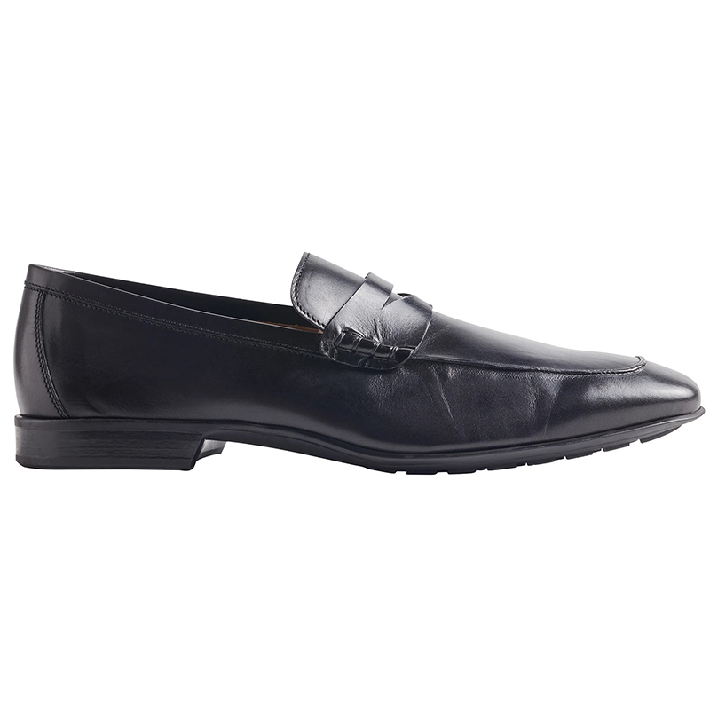 Bruno Magli Dorino Calf-Leather Penny Loafer Black Image