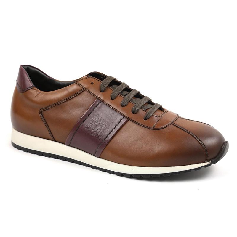 Bruno Magli Elliot Jogger Sneakers Cognac Image