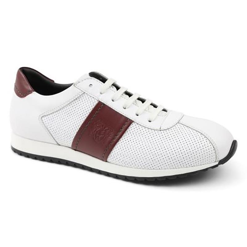 Bruno Magli Elliot Jogger Sneakers White Perf Image