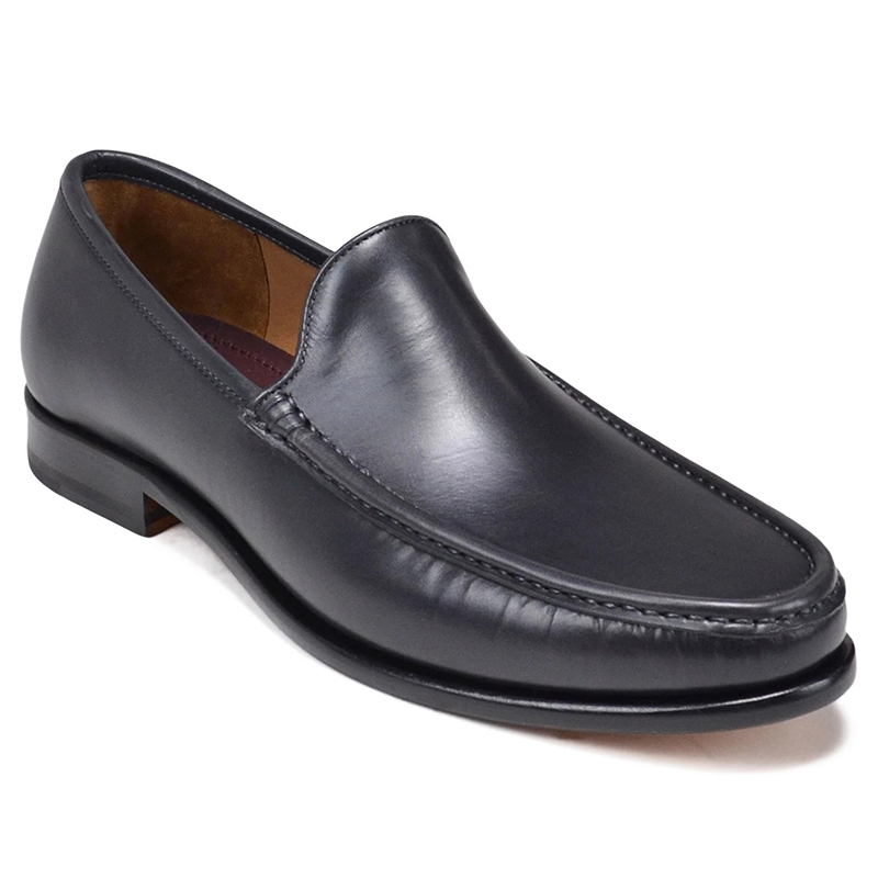 Bruno Magli Ello Venetian Slip-On Dark Grey Image