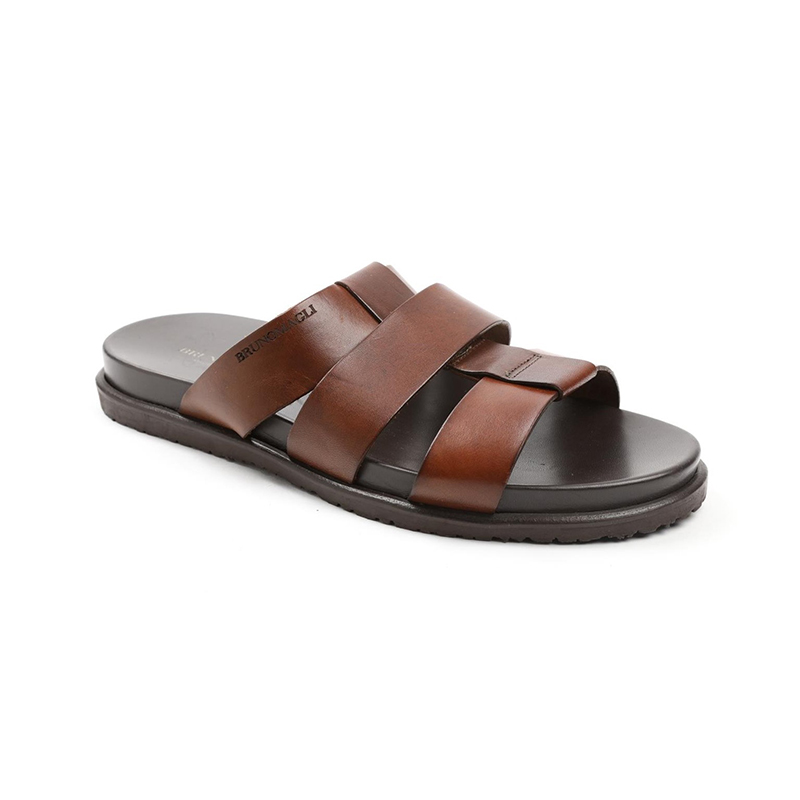 Bruno Magli Empoli Slip-on Sandals Brown Image