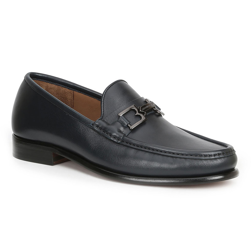 Bruno Magli Enzo Loafers Navy Image