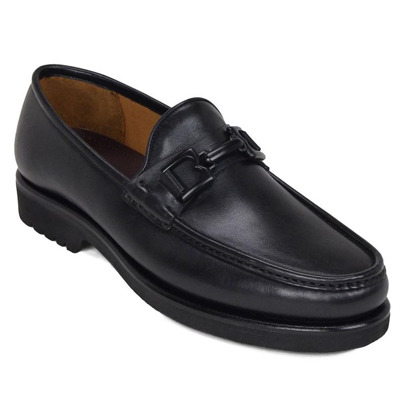 Bruno Magli Falcone Bit Loafers Black Image