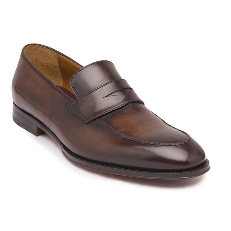 Bruno Magli Fanetta Penny Loafer Dark Brown Image