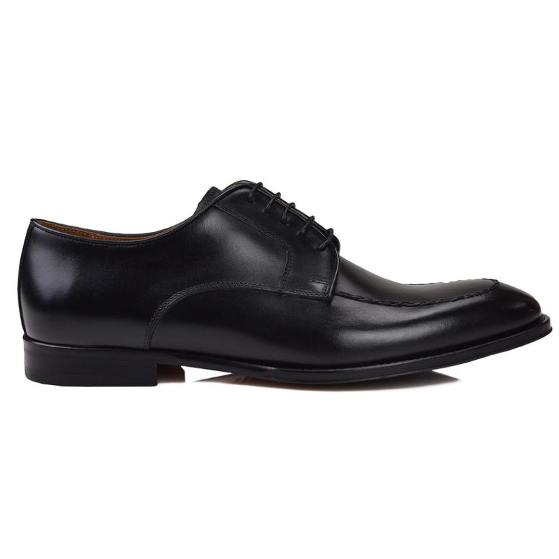 Bruno Magli Fausto Derby Shoes Black Image