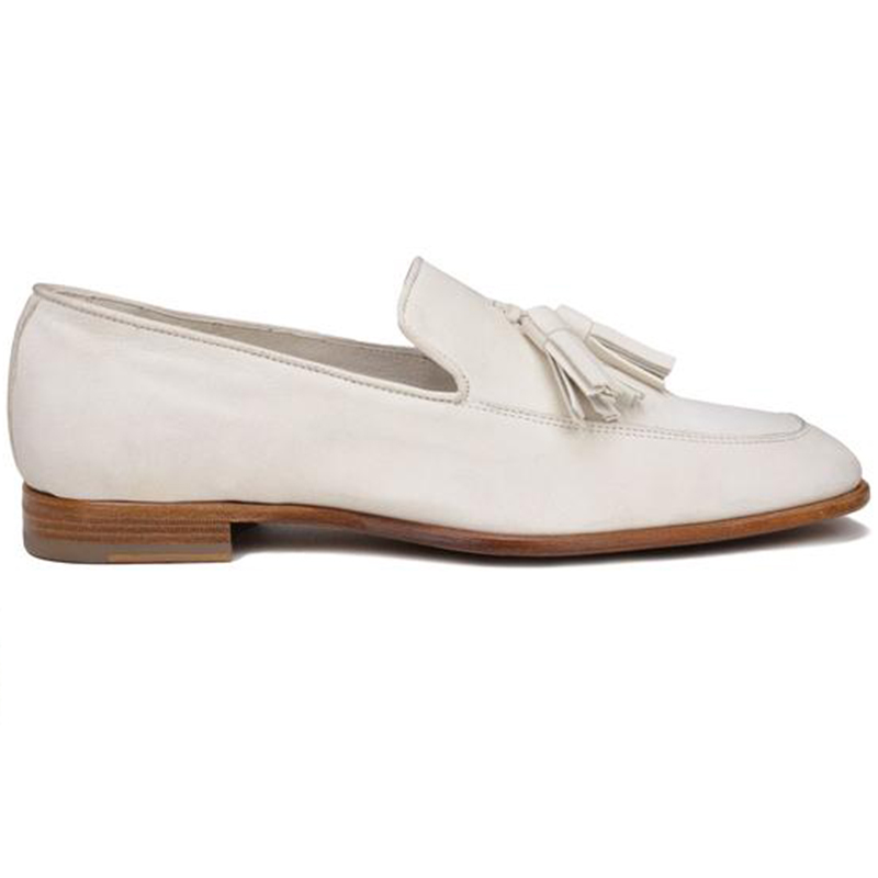 Bruno Magli Iko Tassel Loafers Off White Image