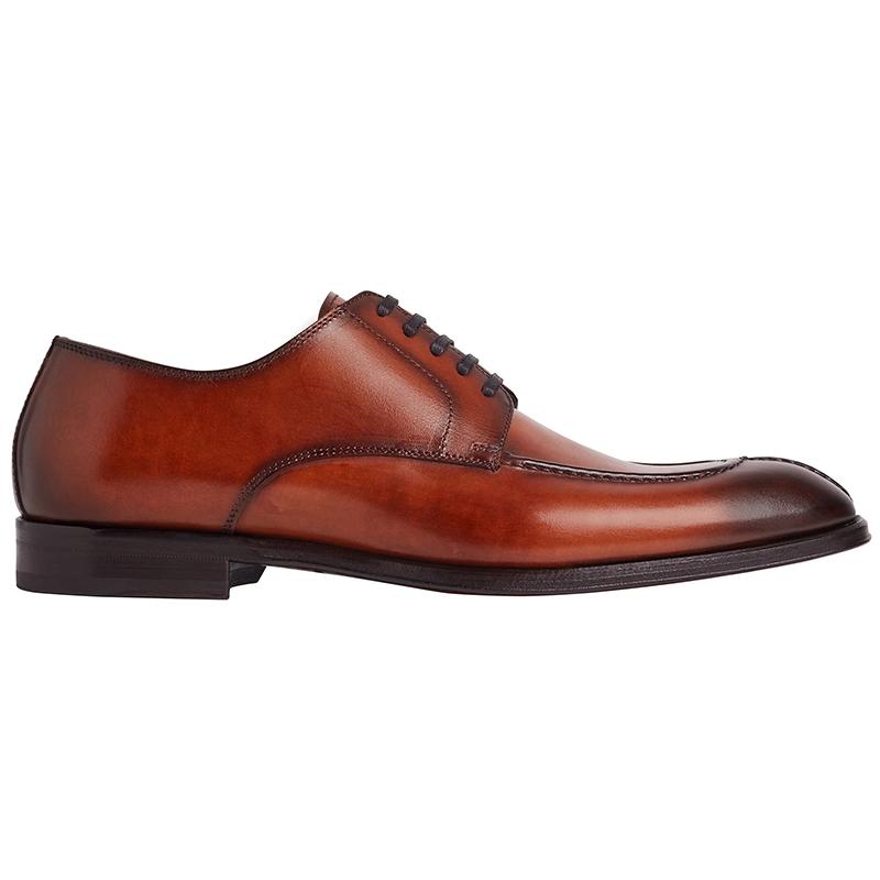 Bruno Magli Livio 5 Eyelet Derby Shoes Cognac Image
